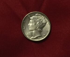 BEAUTIFUL 1945 S MERCURY SILVER DIME GREAT TYPE COIN LAST COIN IN SET [SF232]