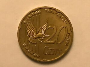 PATTERN EURO COIN UNITED KINGDOM 2002 20C