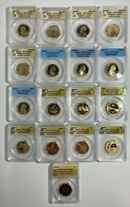 Click now to see the BUY IT NOW Price! 2000 S TO 2016 S ANACS PR70DCAM 17 COIN SET NATIVE AMERICAN SACAGAWEA DOLLAR $1