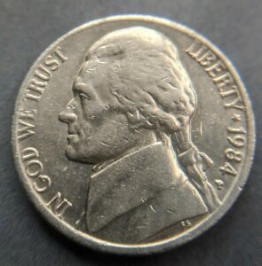 1984 P NICKEL FIVE CENT COLLECTABLE COIN