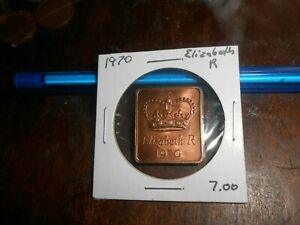 GREAT BRITAIN 1970 MEDAL FROM PROOF COIN SET