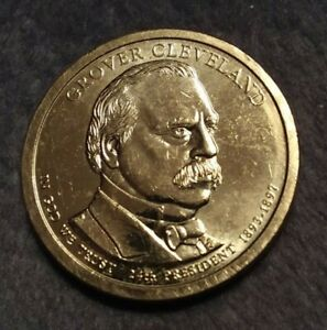 2012 P GROVER CLEVELAND PRESIDENTIAL DOLLAR PROMPT AND