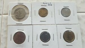 MEXICAN COIN LOT OF TEN COINS