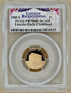 2009 S EARLY CHILDHOOD PROOF LINCOLN CENT PCGS PR70RD DCAM 010621