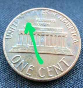 1985 D LINCOLN PENNY GREASE DIE ERROR UNIQUE COIN CENT COLLECTIBLE
