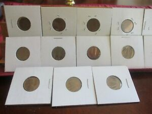 1909   1951 D LINCOLN WHEAT CENT COLLECTION  17 COINS   GREAT STRIKES  NICE