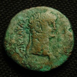 Click now to see the BUY IT NOW Price! DIOBOL EMPEROR CLAUDIUS RV EAGLE THUNDERBOLT 9.66 GRAM 24 5MM ALEXANDRIA AD 52