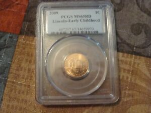 2009 P LINCOLN   EARLY CHILDHOOD CENT 1C PCGS MS65RD
