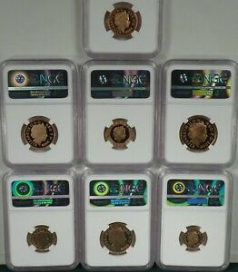 Click now to see the BUY IT NOW Price! 2008 EMBLEMS OF BRITAIN 7 PIECE GOLD PROOF NGC PROOF ULTRA CAMEO REGISTRY SET