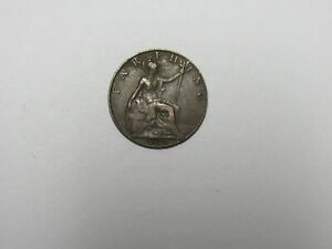 OLD GREAT BRITAIN COIN   1924 FARTHING   CIRCULATED