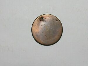 OLD UNITED STATES COIN   1808 1814 CLASSIC HEAD LARGE CENT DATELESS DENT CLEANED