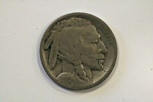 1916 S BUFFALO NICKEL WITH OBVERSE LAMINATION
