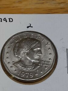1979 D SUSAN B. ANTHONY DOLLAR CIRCULATED CONDITION