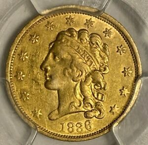 1836 BLOCK 8 PCGS XF DETAILS CLEANING $2.50 CLASSIC HEAD US GOLD COIN