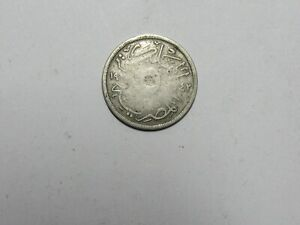OLD EGYPT COIN   1924 5 MILLIEMES   CIRCULATED SPOT SCRATCH