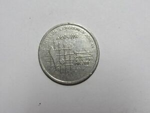 JORDAN COIN   1992 10 PIASTRES   CIRCULATED SPOT RIM DINGS