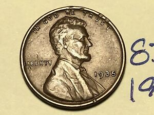 1935 1C BN LINCOLN CENT WHEAT PENNY 8305K