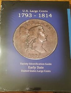 US LARGE CENTS 1793 1814 VARIETY IDENTIFICATION GUIDE BY ROBERT POWERS