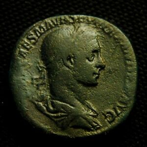 Click now to see the BUY IT NOW Price! SESTERTIUS EMP SEVERUS ALEXANDER RV ALEX GLOBE & SPEAR 21.11 GR 29 31MM AD 225