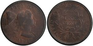 1794 >HEAD OF '93< LIBERTY CAP LARGE CENT >PCGS FINE<  >SUPER FAST SHIPPING