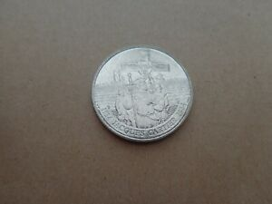 CANADA 1984 ONE DOLLAR COIN   JACQUES CARTIER 1534 1984 COMMEMORATIVE KM 141