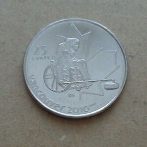 2007 CANADA VANCOUVER OLYMPICS FROM 2010 COMMEMORATIVE COIN