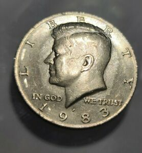 NEW DISCOVERY COIN 1983 P KENNEDY HALF DOLLAR NO/WEAK