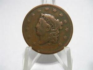 LY  1833 ROTATED DIE LARGE CENT FINE NFM485