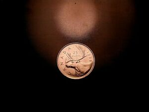 1988 CANADA 25 CENT PIECE   25 SHIPPING