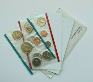 1980 UNCIRCULATED US MINT SET P & D MARKS ORIGINAL GOVERNMENT PACKAGING 13 COINS