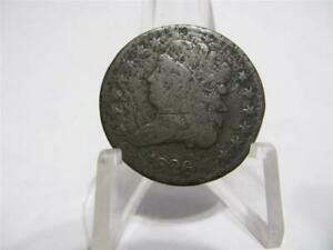 LY  1826 1/2 CENT NICE FINE  CONDITION NFM801