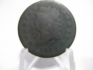 VERY  1812 CLASSIC HEAD LARGE CENT IN GOOD CONDITION   NFM815