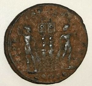 08  235 476  CONSTANTINE ROMAN IMPERIAL COIN METAL DETECTING FIND