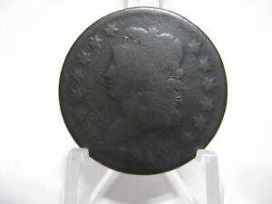 VERY  1812 CLASSIC HEAD LARGE CENT IN GOOD CONDITION  NFM1247