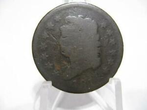 LY  1814  CLASSIC HEAD LARGE CENT NICE GOOD NFM1248