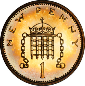 UK PROOF 1P ONE PENNY COINS MIXED DATES & GRADES PICK THE COIN YOU WANT