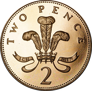 UK PROOF 2P TWO PENCE COINS MIXED DATES/GRADES PICK THE COINS YOU WANT