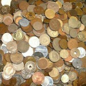RANDOM LOT OF 20 FOREIGN COINS   20 DIFFERENT COUNTRIES
