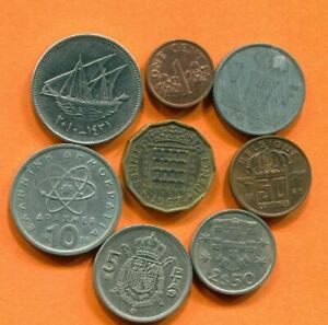 COLLECTION WORLD COINS MIXED LOT DIFFERENT COUNTRIES AND REGIONS L10413.1.C