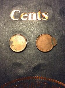 1 CENT 96 STRUCK OFF CENTER UNC FOUND WITH 2000 P COLLECTION AND 1 BLANK