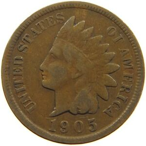 UNITED STATES CENT 1905 INDIAN HEAD A63 247