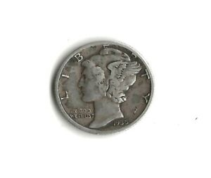 84    1935 S MERCURY SILVER DIME XF         FREE  DELIVERY