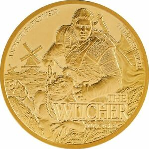 Click now to see the BUY IT NOW Price! THE LAST WISH WITCHER BOOK SERIES 1 OZ GOLD 50 $ DOLLARS NIUE 2021
