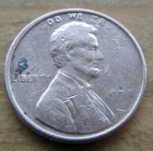 1978 ? LINCOLN PENNY GREASE DIE ERROR UNIQUE COIN CENT COLLECTIBLE  1 KIND