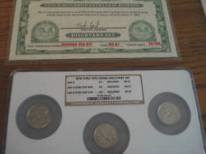 Click now to see the BUY IT NOW Price! 2004 D WISCONSIN BOB FORD DISCOVERY SET NGC MS67 EXTRA