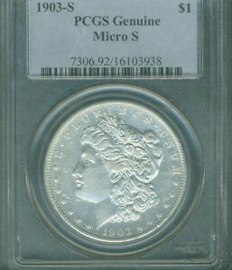 Click now to see the BUY IT NOW Price! 1903 S MORGAN SILVER DOLLAR MICRO