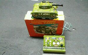 vintage tin battery operated toy