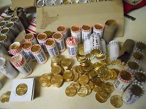 Click now to see the BUY IT NOW Price! LOT OF $500 IN RANDOM UNCIRCULATED  GOLD PRESIDENTIAL DOLLARS. 2007 2011 MOST D