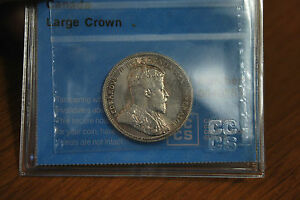Click now to see the BUY IT NOW Price! 25 CENTS CANADA 1906 EDWARD VII  GRADED BY CCCS AU 58  .925 SILVER
