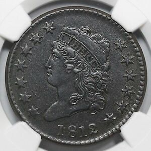 Click now to see the BUY IT NOW Price! 1812 S 288 R 2 NGC AU DETAILS CLASSIC HEAD LARGE CENT COIN 1C